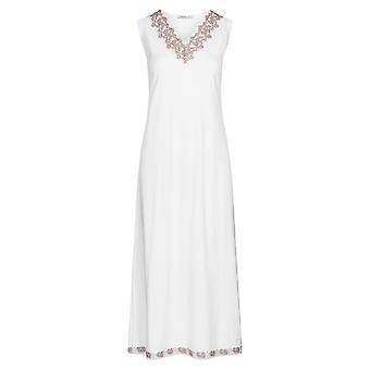 Féraud 3201096-15648 Women's Couture White Leopard Print Loungewear Nightdress