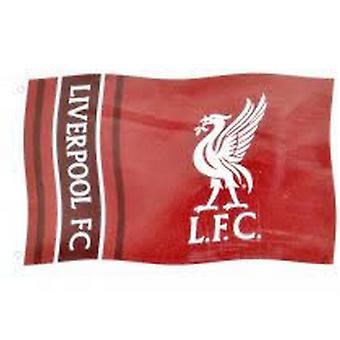 Liverpool FC Official Football Bullseye 5 X 3 Flag