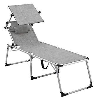 Strandstol/strandseng med solcreme