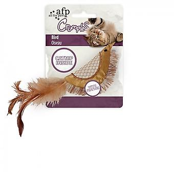 AFP Pájaro Dorado Crumples (Cats , Toys , Plush & Feather Toys)