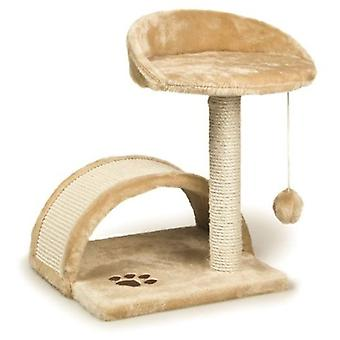 Arquivet Scraper With Pole And Arc 50Cm. Beige (Cats , Toys , Scratching Posts)