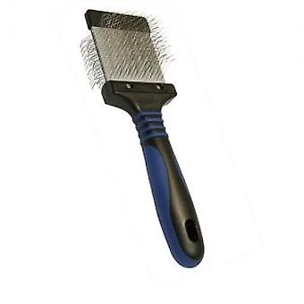 Show Tech Carda Double Twin Semi-Flex (Dogs , Grooming & Wellbeing , Brushes & Combs)