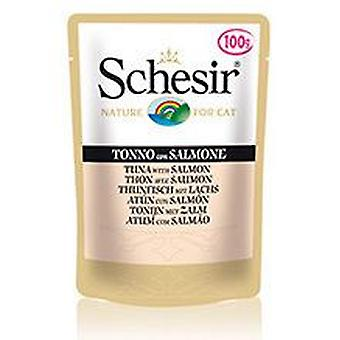 Schesir Tuna With Salmon multipack (Cats , Cat Food , Wet Food)