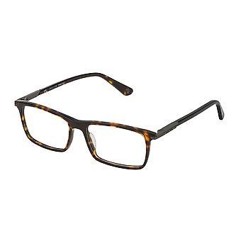 الشرطة Westwing 2 VPL691 0722 نظارات هافانا الداكنة لامعة