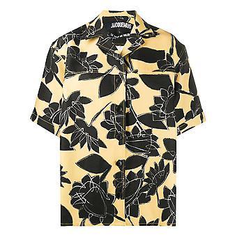 Jacquemus 201sh012010727f Women's Multicolor Linen Shirt