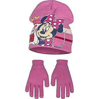 Disney minnie ragazze cappello e guanto set