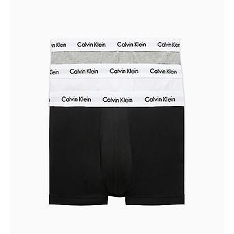Calvin Klein Slip 3 Pakkaus - Mustavalkoinen/Harmaa