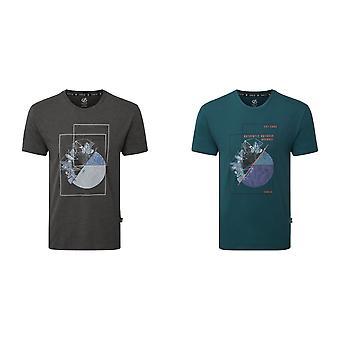 Dare 2B Mens Insensato grafico T-Shirt
