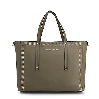Trussardi Original Women All Year Shopping Bag - Couleur Verte 49146