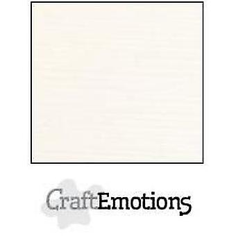 CraftEmotions linen cardboard 10 Sh champagne 30,0x30,0cm / LC-06