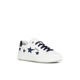 Geox Kids J Rebecca Girl B Lace Up Trainer