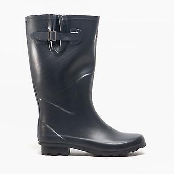 Stormwells Wildclive Wellington Boots dames Navy/rood