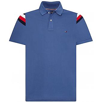 Tommy Hilfiger Slim Fit skulder stribe polo shirt
