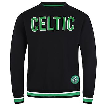 Celtic FC Official Football Gift Mens Crest Sweatshirt Top