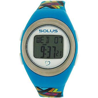 Solus Unisex Digital Day-Date Heart Rate Mde Multicolour PU Watch SL-800-009