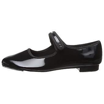Kids Dance Class Girls mary jane strap tap shoe