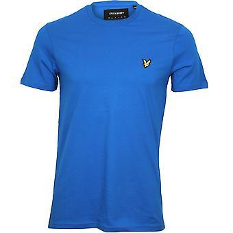 Lyle & Scott Classic Crew-Neck T-Shirt, Cobalt Blue