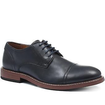 Jones Bootmaker Mens Fergus Lederen Derby Schoen