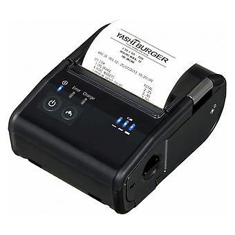 Drukarka biletowa Epson TM-P80B 203 dpi 100 mm/s Bluetooth Black