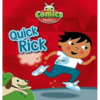 Sett 12 Gul Quick Rick (BUG CLUB)