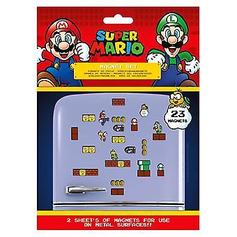Super Mario Bros. Mushroom Kingdom Magnet Set