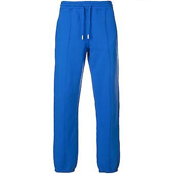 Off-blanc Ezcr002004 Men-apos;s Blue Cotton Joggers