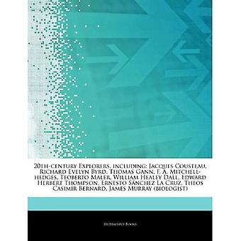 Articles On 20th-century Explorers, Including