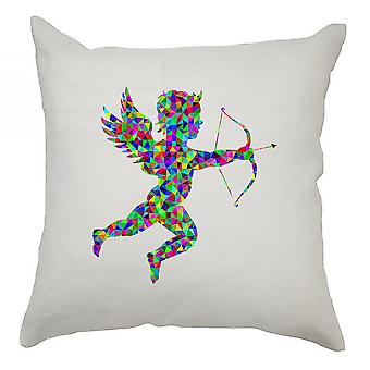 Colourful Cushion Cover 40cm x 40cm Cherub