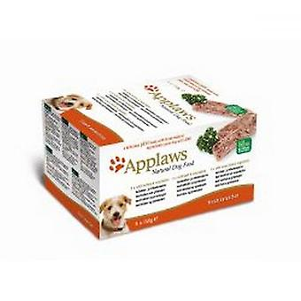 Applaws Pate Multipack Fresh Select Complete Wet Dog Food (5 Trays)