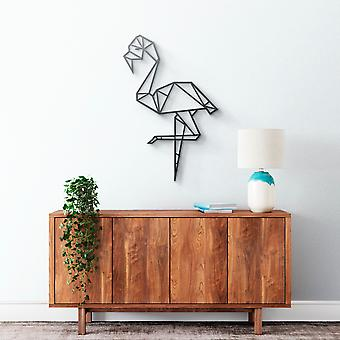 Metal Wall Art - Flamingo