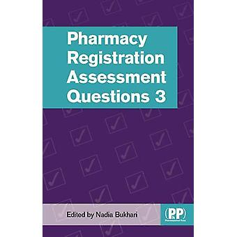 Pharmacy Registration Assessment Questions 3 by Nadia Bukhari - 97808