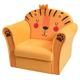 Kids Sofa Children's Armrest Soft Sponge Armchair Seat Cute Lion Baby Toddlers