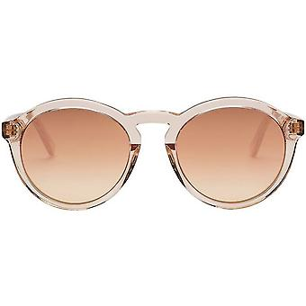 Electric California Moon Sunglasses - Crystal Nude/Champagne Chrome