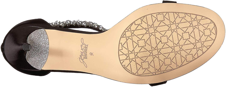 Jewel Badgley Mischka vrouwen ' s Janna sandaal, zwart, M070 M ons - Gratis verzending 8NFEhP
