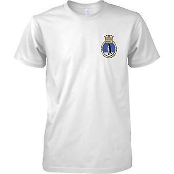 HMS Scott - aktuelle königliche Marineschiff T-Shirt Farbe