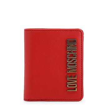 Woman synthetic wallet love moschino52631