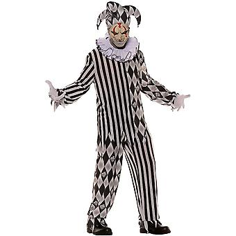 Onda Harlequinn tonåring kostym