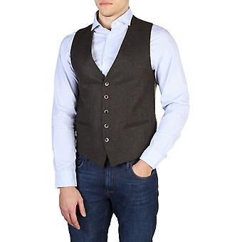 Man elastane sleeveless sweater vests th73719