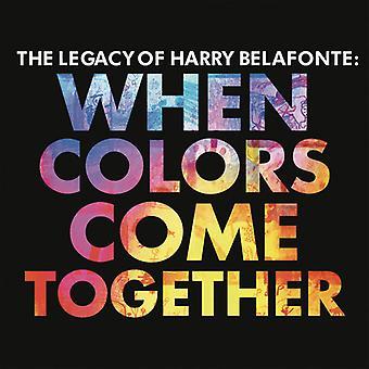 Harry Belafonte - importar de USA cuando colores vienen juntos [CD]