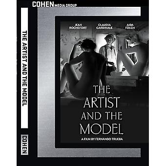 Artist & the Model [DVD] USA import