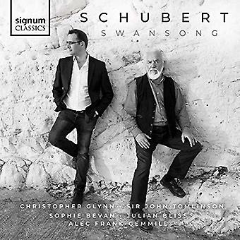 Schubert / Tomlinson / Glynn - Swansong [CD] USA import