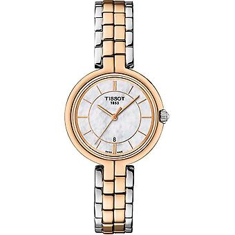 Tissot T094.210.22.111.00 Flamingo Mother of Pearl Dial Ladies Watch