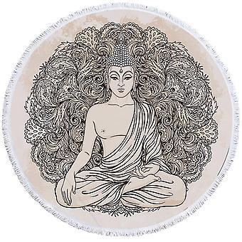 Tegning av Buddha Beach håndkle