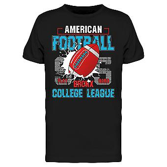 Football College League Tee Men's -Image by Shutterstock