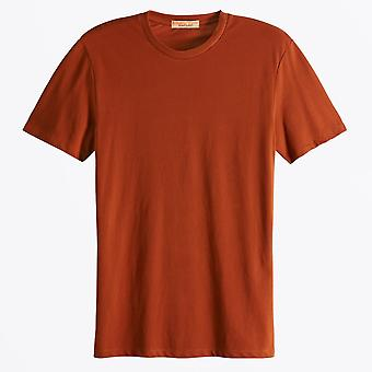 Scotch & Soda - Classic Crew Neck Tee - Rum Run