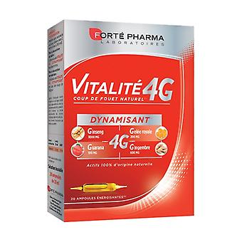 Vitality 4G Ultra Boost 20 ampoules