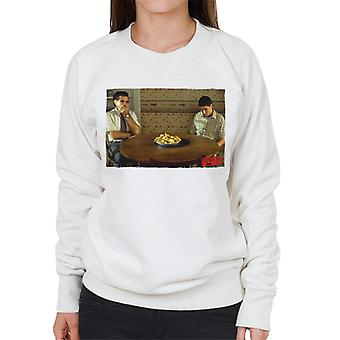 American Pie On The Table Women's Sweatshirt