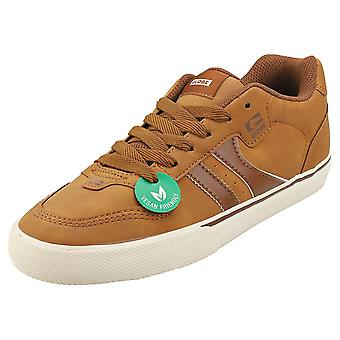 Globe Encore 2 Mens Skate Trainers in Tan Brown