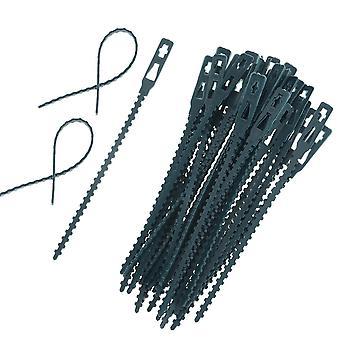 البلاستيك مصنع الكابل العلاقات الكابلات القابلة لإعادة الاستخدام العلاقات الدفيئة تنمو مجموعات لحديقة