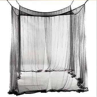 Universal Mosquito Net Makuuhuone Bedspread Hyönteissuojattu, Avaavat ovet kaikilla puolilla 190x210x240cm
